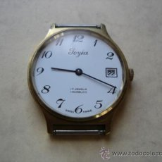Vintage: JOYKA - 17 JEWELS INCABLOC - SWISS MADE. Lote 37669004
