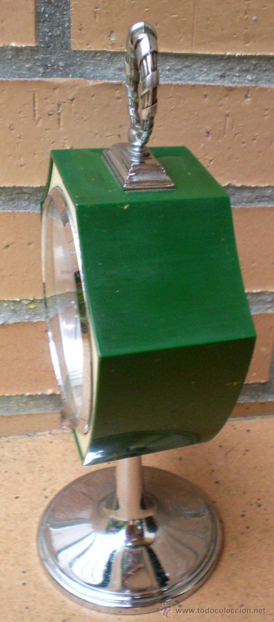 Vintage: Reloj Rhythm verde, diseño Tulip, Made in Japan - Foto 3 - 38322521