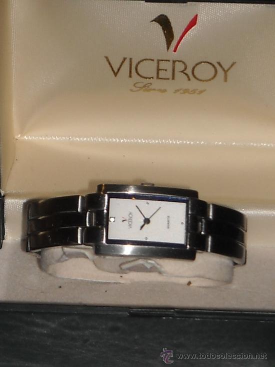 RELOJ DE SEÑORA VICEROY DE PULSERA, EN ACERO INOXIDABLE, (Relojes - Relojes Vintage )