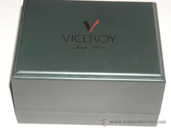 Vintage: reloj de señora viceroy de pulsera, en acero inoxidable, - Foto 5 - 39039236