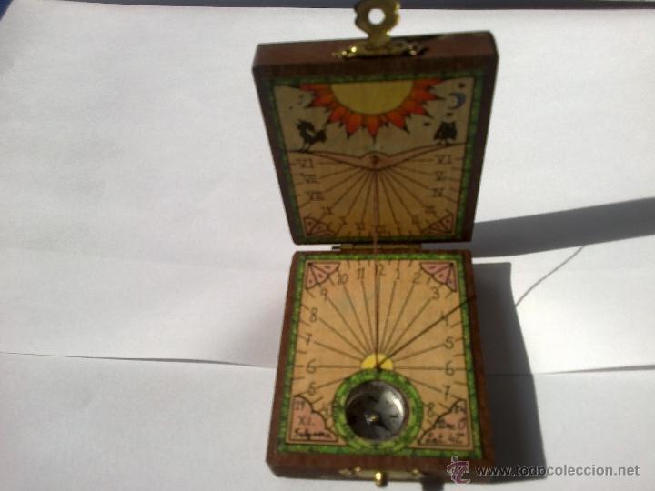71e80c8b3749 5 fotos ANTIGUO RELOJ DE SOL CON BRUJULA DE FALGUERA (Relojes - Relojes  Vintage ) ...