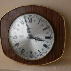 Vintage: RELOJ DE PARED VINTAGE ELECTRONIC DIEHL MADE IN GERMANY. Lote 42102619