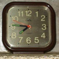 Vintage: RELOJ DESPERTADOR DE SOBREMESA.AÑOS 70.. Lote 43192915