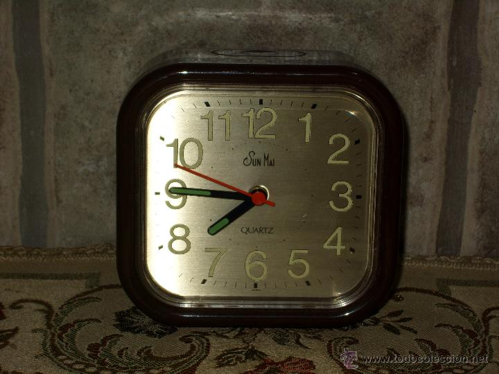 Vintage: RELOJ DESPERTADOR DE SOBREMESA.AÑOS 70. - Foto 6 - 43192915