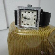 Vintage: CASWATCH, SRA. CROMADO C/ PIEL, CUERDA MANUAL, (AÑOS 70).MARCHA BIEN.. Lote 43204834