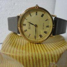 Vintage: REMEX CAB, DORADO, CUARZO, NUEVO, MARCHA BIEN, CORREA PIEL.. Lote 43217868