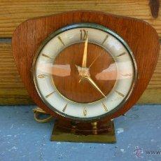 Vintage: RELOJ ELECTRICO SOBREMESA AÑOS 60. Lote 44252679
