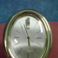 Vintage: RELOJ VINTAGE DESPERTADOR SWIZA 8. Lote 45463575