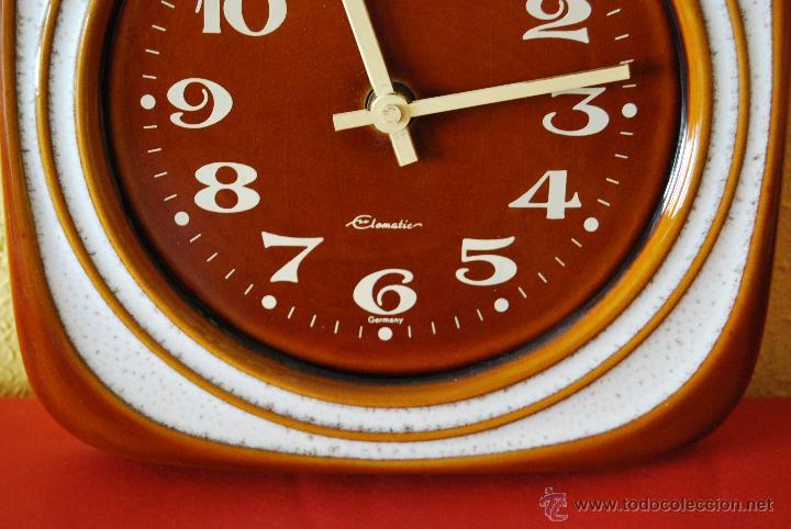 Reloj de pared alemán en porcelana - elomatic - - Vendido en Venta