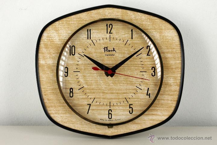 Reloj De Pared Cocina Retro Flash Vintage Formi Comprar Relojes - Cocina-retro-vintage