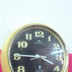 Vintage: RELOJ DE PARED DE LA MARCA SILICON CLOCK 4 JEWELS TOKYO TOKEI. VINTAGE FUNCIONANDO. Lote 49457055
