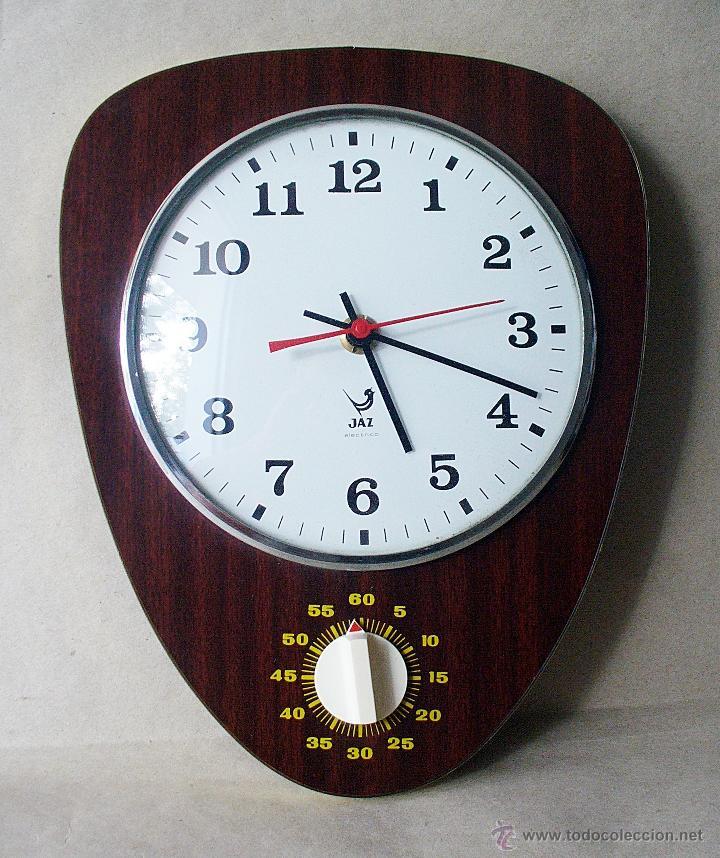 Reloj de pared para cocina jaz electrico c comprar - Reloj pared cocina ...