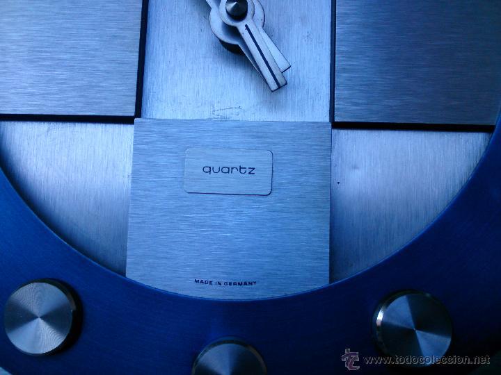 Vintage: Reloj de pared Junghans Electronic Quartz Made in Germany, años 70 - Foto 3 - 49895807