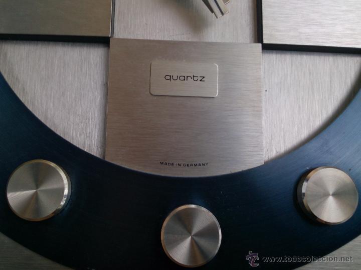 Vintage: Reloj de pared Junghans Electronic Quartz Made in Germany, años 70 - Foto 5 - 49895807