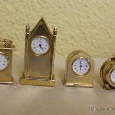 Vintage: RELOJES DE COLECCION EN MINIATURA. Lote 52021908