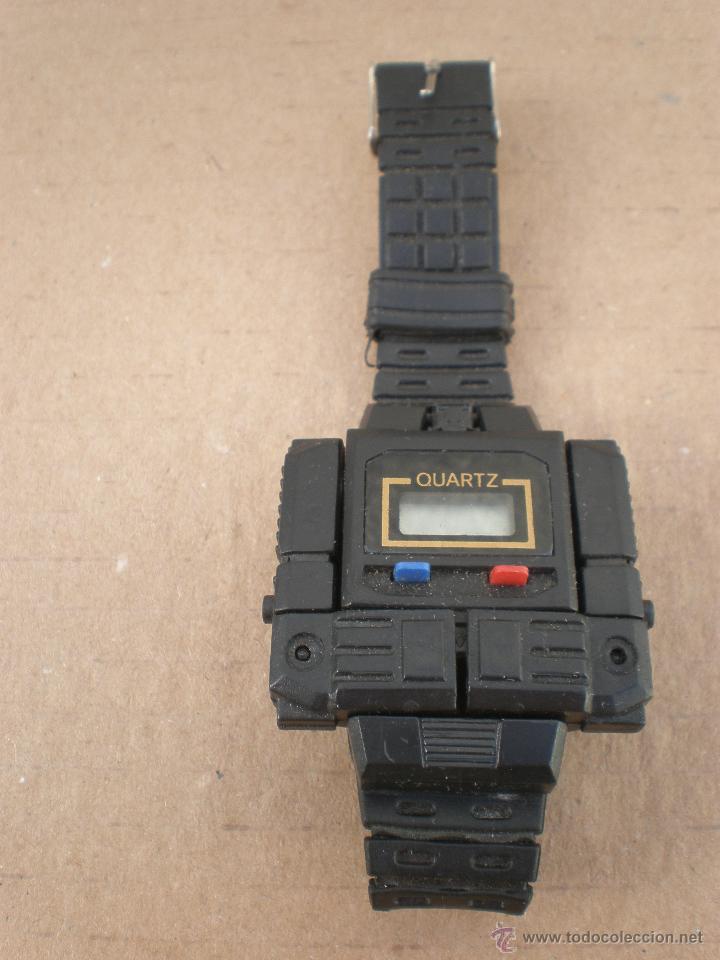 Para aumentar Así llamado Honesto  Reloj transformer robot años 80 no funciona - Sold through Direct Sale -  53693939