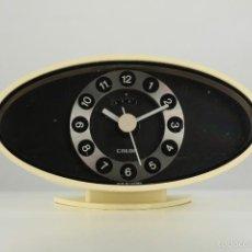 Vintage: RELOJ DESPERTADOR CALOR SPACE AGE RETRO VINTAGE FRANCIA 70S . Lote 56633356