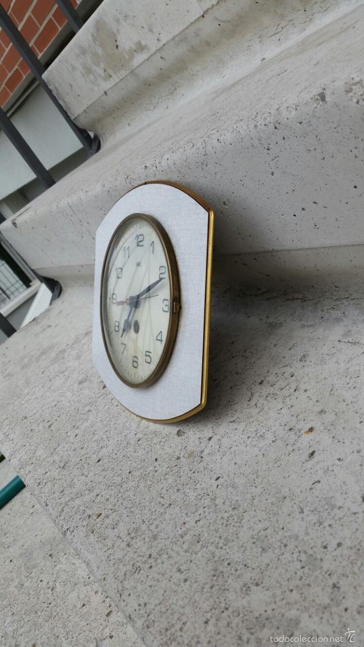 reloj antiguo de cocina u oficina vintage,años - Comprar Relojes ...