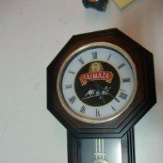 Vintage: RELOJ DE PARED PUBLICIDAD DE CAFES SAIMAZA. Lote 58178520