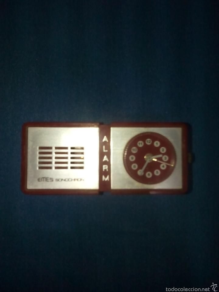 RELOJ ALARMA EMES SONOCHRON ALEMAN (Relojes - Relojes Vintage )