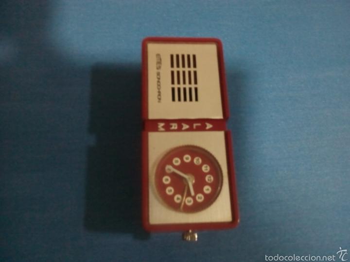 Vintage: Reloj alarma EMES sonochron aleman - Foto 3 - 58189784