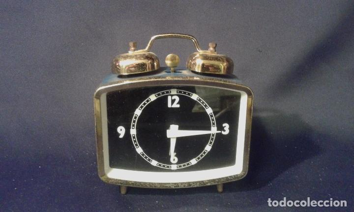 RELOJ DESPERTADOR. FUNCIONA. VINTAGE. AÑOS 60, 70. (Relojes - Relojes Vintage )