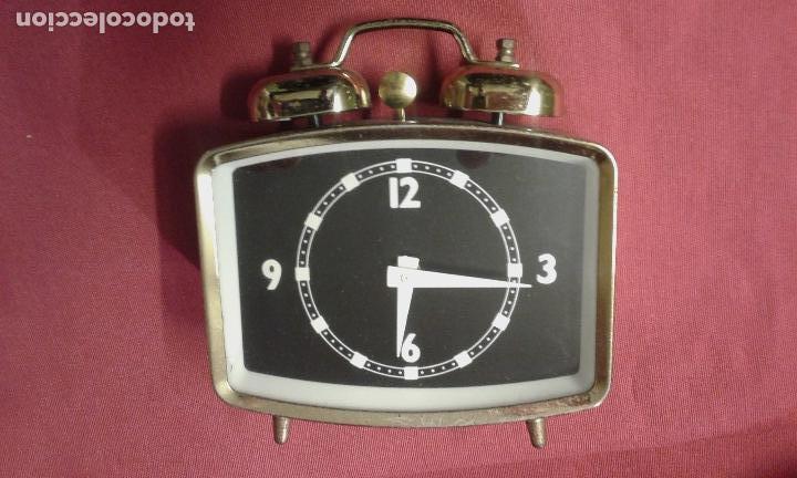 Vintage: Reloj despertador. Funciona. Vintage. Años 60, 70. - Foto 2 - 69618793