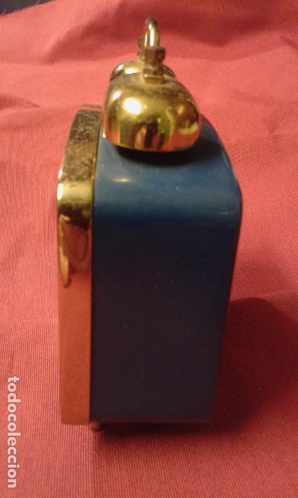 Vintage: Reloj despertador. Funciona. Vintage. Años 60, 70. - Foto 5 - 69618793