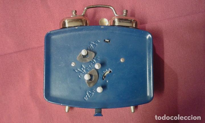 Vintage: Reloj despertador. Funciona. Vintage. Años 60, 70. - Foto 7 - 69618793