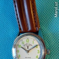 Vintage: RELOJ SUIZO FAVRE-LEUBA SEA-KING TWIN POWER. SWISS MADE. MOVIMIENTO DE CUERDA. FUNCIONA. ENVÍO : 1€*. Lote 76872279