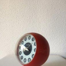 Vintage: RELOJ DESPERTADOR GLOBUS- CUERDA- VINTAGE AÑOS 70. Lote 77635239