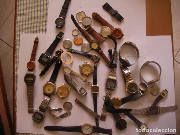 GRAN LOTE DE RELOJES ANTIGUOS VINTAGE DE PULSERA (Relojes - Relojes Vintage )