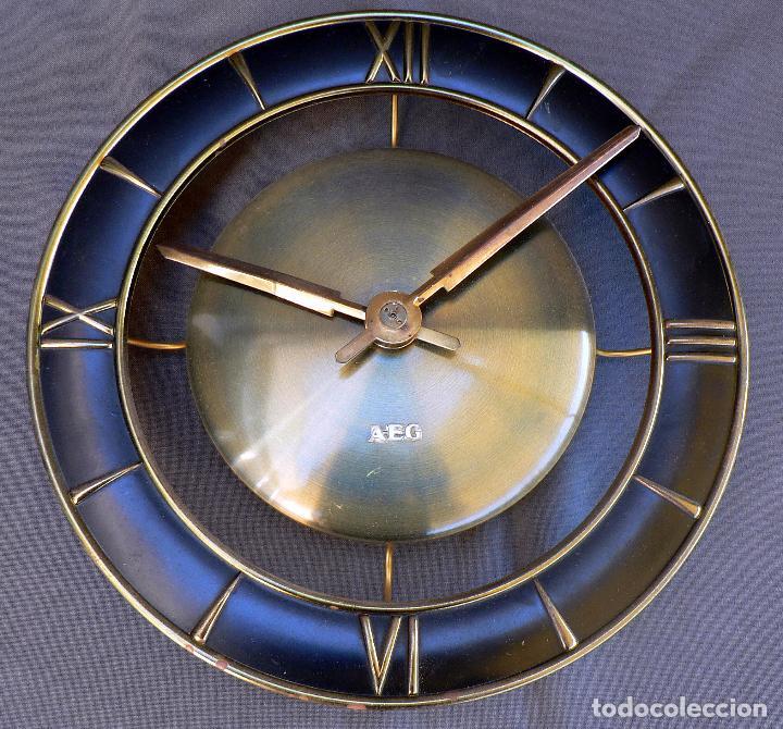 RELOJ DE PARED ELECTRICO AEG MODELO STUTTGART - RARO MODELO DE LOS AÑOS 50 - ALEMANIA (Relojes - Relojes Vintage )