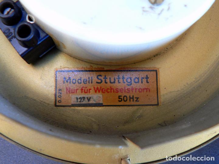 Vintage: RELOJ DE PARED ELECTRICO AEG MODELO STUTTGART - RARO MODELO DE LOS AÑOS 50 - ALEMANIA - Foto 4 - 85437612