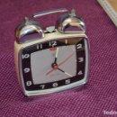 Vintage: VINTAGE - DIAMOND CLOCK - PRECIOSO - RELOJ DESPERTADOR RARÍSIMO - SHANGAI - AÑOS 50 - HAZME OFERTA. Lote 89555268