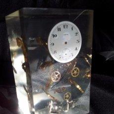 Vintage Uhren - RELOJ DESPIECE EN METACRILATO AÑOS 70 - 110080388