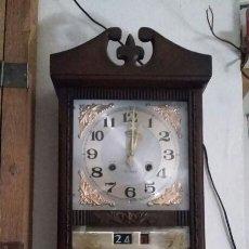 Vintage: RELOJ DE PARED CON CALENDARIO. Lote 92134555