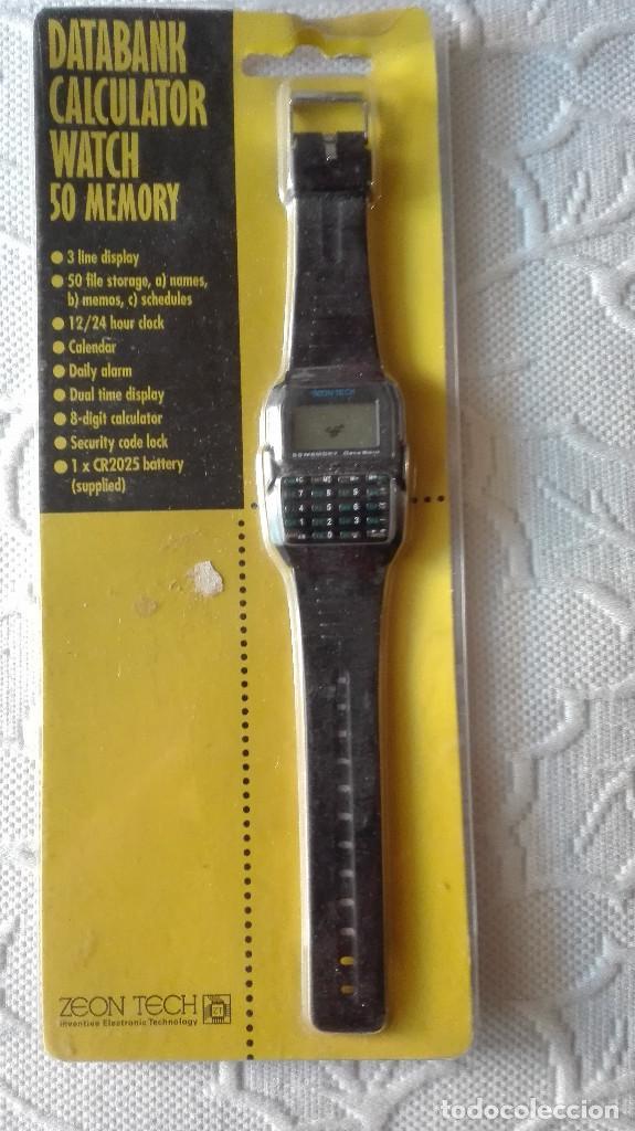 4b9a13c56242 RELOJ AÑOS 80 CALCULADORA ZEON TECH NO PROBADO NO CASIO (Relojes - Relojes  Vintage ) ...