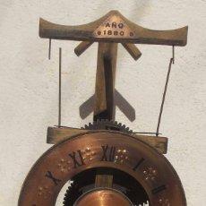Vintage: REPLICA RELOJ 1880, EN MADERA. Lote 98501175
