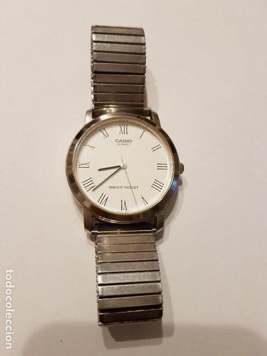 hot sale online 75b8a 832cc Reloj vintage casio 1330 mtp 1118 correa elasti - Sold at ...