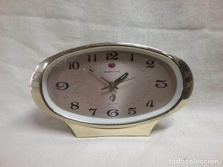 RELOJ VINTAGE GOLDEN TONE CARGA MANUAL AÑOS 70 (Relojes - Relojes Vintage )