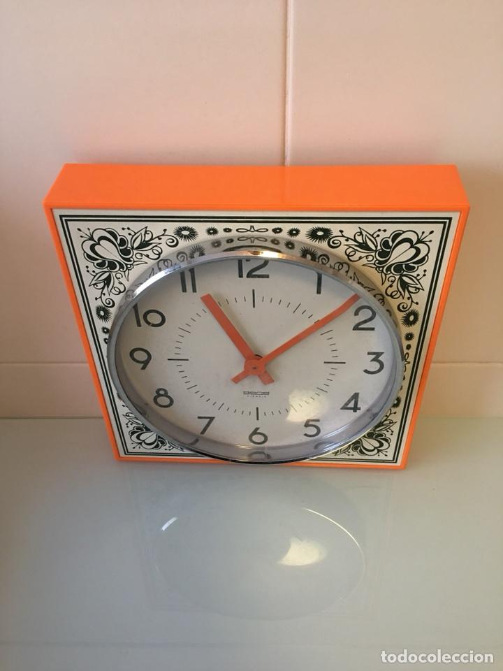 Antiguo reloj de pared de cocina vintage orig comprar - Reloj cocina original ...