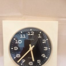 Vintage: RELOJ DE PARED MARCA EUROPA CLOMATIC MADE IN GERMANY. Lote 104649730