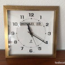 Vintage: PRECIOSO RELOJ DE PARED JAZ FRANCÉS. Lote 106570578