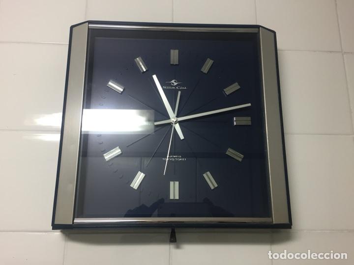 RELOJ DE PARED VINTAGE,SILICON CLOCK JAPAN (Relojes - Relojes Vintage )