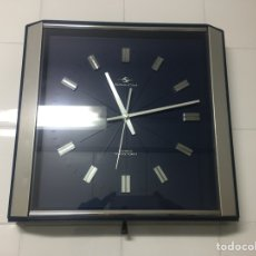 Vintage: RELOJ DE PARED VINTAGE,SILICON CLOCK JAPAN. Lote 122670738