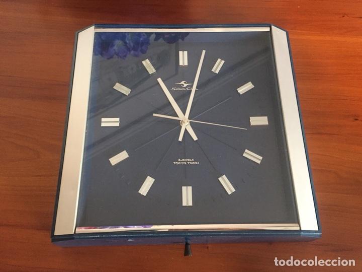 Vintage: Reloj de pared vintage,Silicon Clock Japan - Foto 2 - 122670738