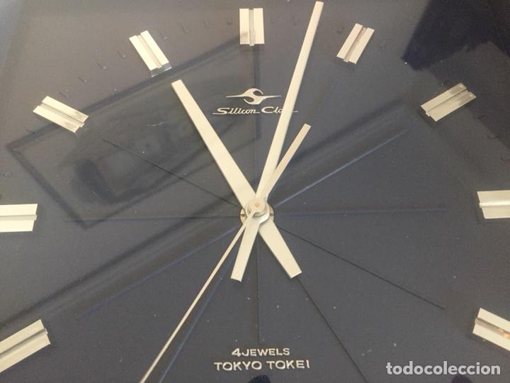 Vintage: Reloj de pared vintage,Silicon Clock Japan - Foto 5 - 122670738