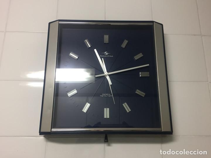 Vintage: Reloj de pared vintage,Silicon Clock Japan - Foto 6 - 122670738