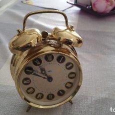 Vintage: VINTAGE. RELOJ DESPERTADOR PRIM. USADO. AÑOS 70 NO FUNCIONA. Lote 110279811